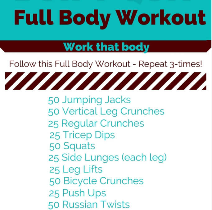 Full Body Workout brought to you